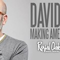 Just announced: David Cross at ROMT next month, Feb. 14