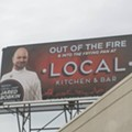 Signage: Detroit Hells Kitchen contestant gets some BIG support on Woodward Avenue