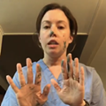 Michigan nurse demonstrates coronavirus cross-contamination in viral video