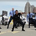 Video: Detroit Police Department busts out the moves