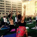 All the outdoor yoga classes being held in Detroit this summer
