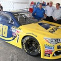 Dale Earnhardt Jr. to debut maize-and-blue car for Pure Michigan 400
