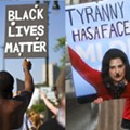 What makes the Black Lives Matter protests different from the anti-lockdown protests?