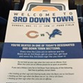 Detroit Lions fans need a little help showing their team spirit
