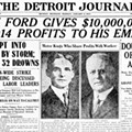 103 years ago, Ford doubled minimum wage — but it still wasn't much