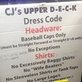 Dress codes can often be racist, the Waterford bar just said the quiet part out loud