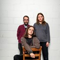 Stef Chura Band: Ryan Clancy, Stef Chura, and Cy Tulip