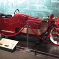 Detroit Historical Museum showcases Mobsteel-restored 1913 'motorcycle car'