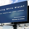 'Driving While Black?' Billboard warns drivers about racial profiling by Livonia police