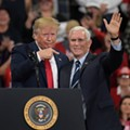 Pence lies about Detroit protests to defend Trump's baseless conspiracy theory about a plane 'loaded with thugs'