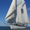 The 'Appledore IV' returns for historic sailing tours on the Detroit River