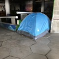 Detroit to remove homeless encampment in Hart Plaza to make way for renovations