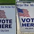 Detroit polling signs had wrong hours, city clerk challenger McCampbell calls it 'tactic to suppress the vote'