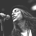 Punk poet laureate Patti Smith and band perform the 40-plus-year-old 'Horses'