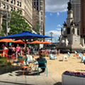The Fountain Detroit 'beachside' restaurant opens this weekend in Campus Martius