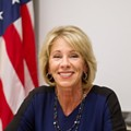 Betsy DeVos is in a Twitter war with a teacher's union and we can't look away