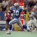 20 years ago today: Barry Sanders breaks the NFL's  2,000-yard mark at a doomed Pontiac Silverdome