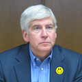 Governor Rick Snyder approves unemployment reforms after false fraud fiasco