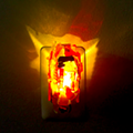 Detroit artist makes moody night lights from shards of broken brake lights