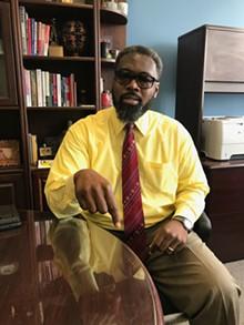 LARRY GABRIEL - Detroit City Councilmember James Tate.