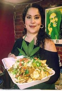 COURTESY OF CHEF GIGI DIAZ - Chef Gigi Diaz with her Mexicated cuisine.