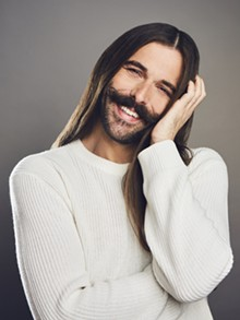 COURTESY OF JOHNATHAN VAN NESS - Gay Jesus, take the wheel: Johnathan Van Ness.
