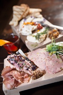 PHOTO BY ROB WIDDIS - Ploughman's Plate from Republic in Detroit.