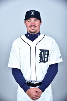 PHOTO COURTESY OF DETROIT TIGERS - Blaine Hardy