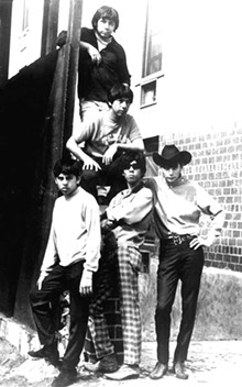 The band in 1966. Courtesy photo.
