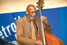 PHOTO BY LEN KATZ. - Ron Carter.