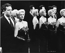 COURTESY PHOTO. - Orson Welles and Rita Hayworth in The Lady from Shanghai, 1948.