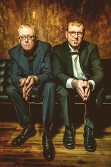 PHOTO BY TREVER LONG - David Haskins and Joshua James.