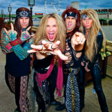 PHOTO VIA THE STEEL PANTHER FACEBOOK