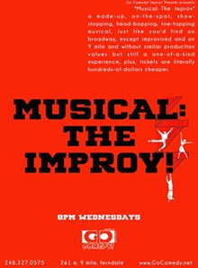 PHOTO VIA MUSICAL: THE IMPROVE EVENT PAGE, FACEBOOK