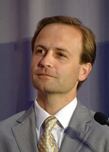 WIKIMEDIA COMMONS (EPICFILIBUSTER) - Lt. Governor Brian Calley listens to a question from the audience at an event in Cobo Hall in Detroit.