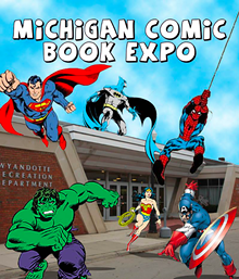 MICHIGAN COMIC BOOK EXPO FACEBOOK PAGE