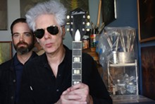 COURTESY PHOTO - Carter Logan, left, and Jim Jarmusch are Sqürl.