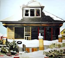 """BUFFALO STREET"" BY NANCY MITCHNICK"