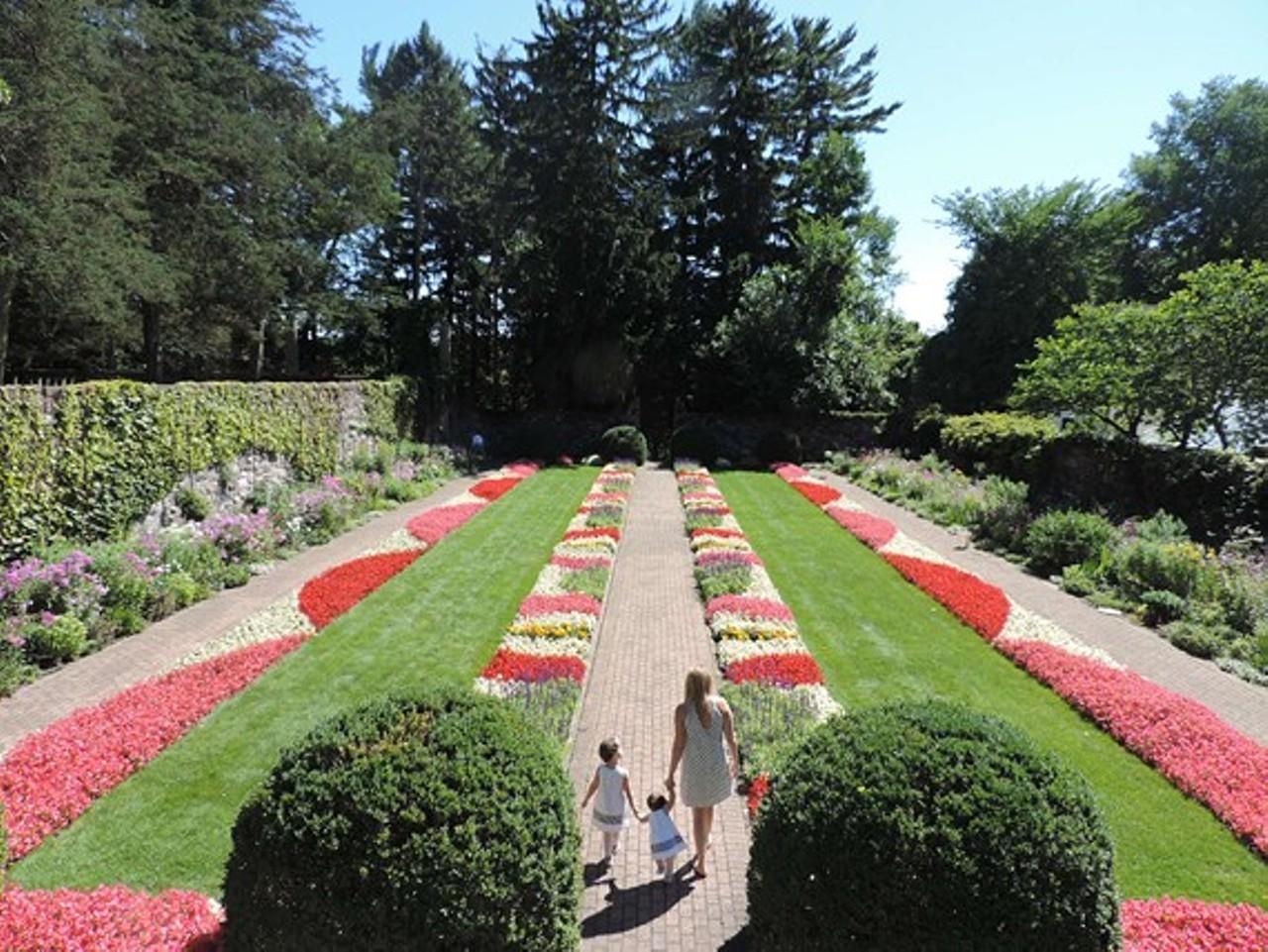 Sunken Gardens Admission Garden Ftempo