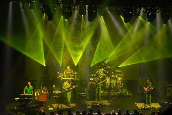 Umphrey's McGee in Kalamazoo. - MT PHOTO: PIETRO TRUBA