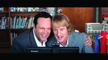 Vaughn and Wilson bamboozle their way through a Skype interview with Google execs in The Internship.
