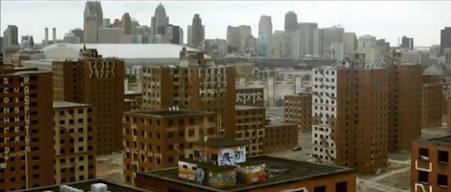 When is Detroit not Detroit? - SCREEN CAPTURE FROM 'BRICK MANSIONS'