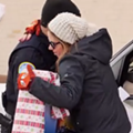Watch: Michigan police officers give out gifts instead of traffic tickets