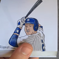 We love this Derek Jeter flipbook