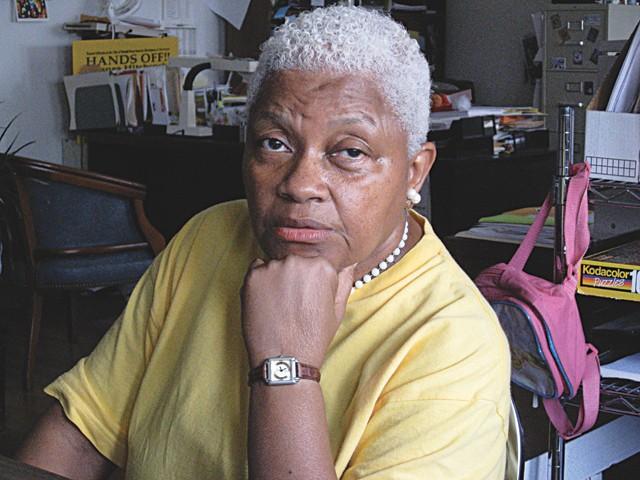 Welfare rights activist Maureen Taylor.