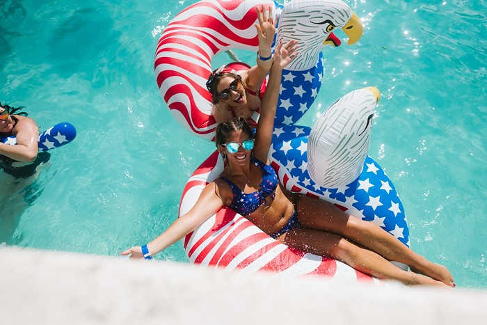 Have you picked out your patriotic swimwear yet? - PHOTO BY KARLI EVANS