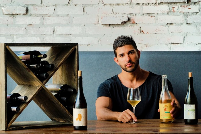 Yediel Kadosh is opening a natural wine pop-up in Wynwood. - PHOTO COURTESY OF CIAO BELLA NATURAL WINE BAR