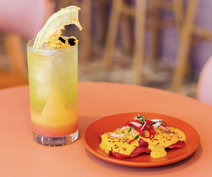 Margot's short menu reads like a traditional Spanish tapas bar. - PHOTO COURTESY OF BAR LAB