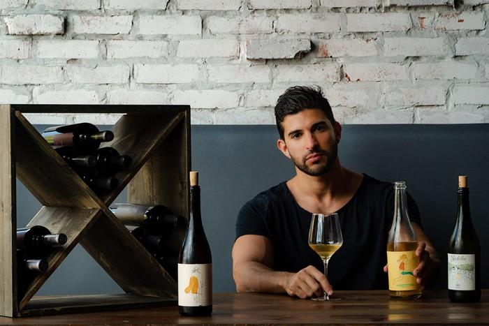 Yediel Kadosh has opened Ciao Bella, a pop-up for natural wines, in Wynwood. - PHOTO COURTESY OF CIAO BELLA NATURAL WINE BAR