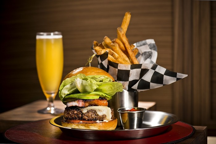 BH Burger Bar has reopened inside the St. Regis Bal Harbour. - PHOTO COURTESY OF BH BURGER BAR